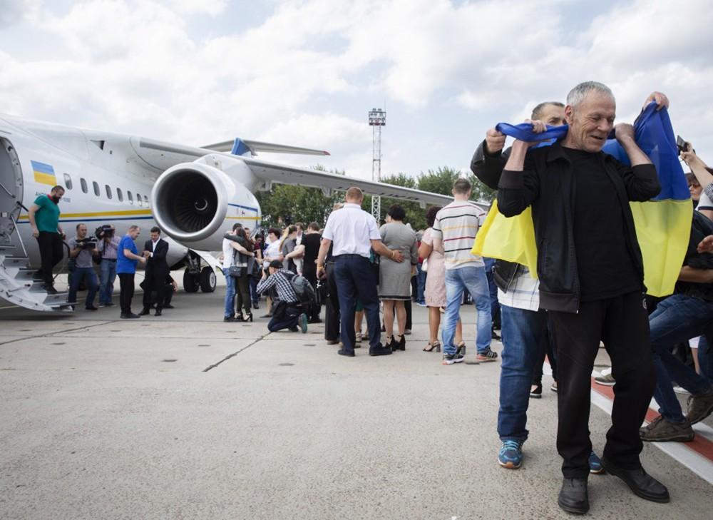 Встреча участников договоренности об освобождении между Россией и Украиной
