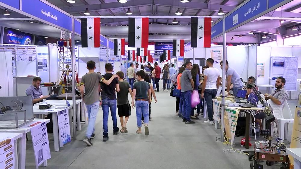 Научно-техническая выставка в Сирии