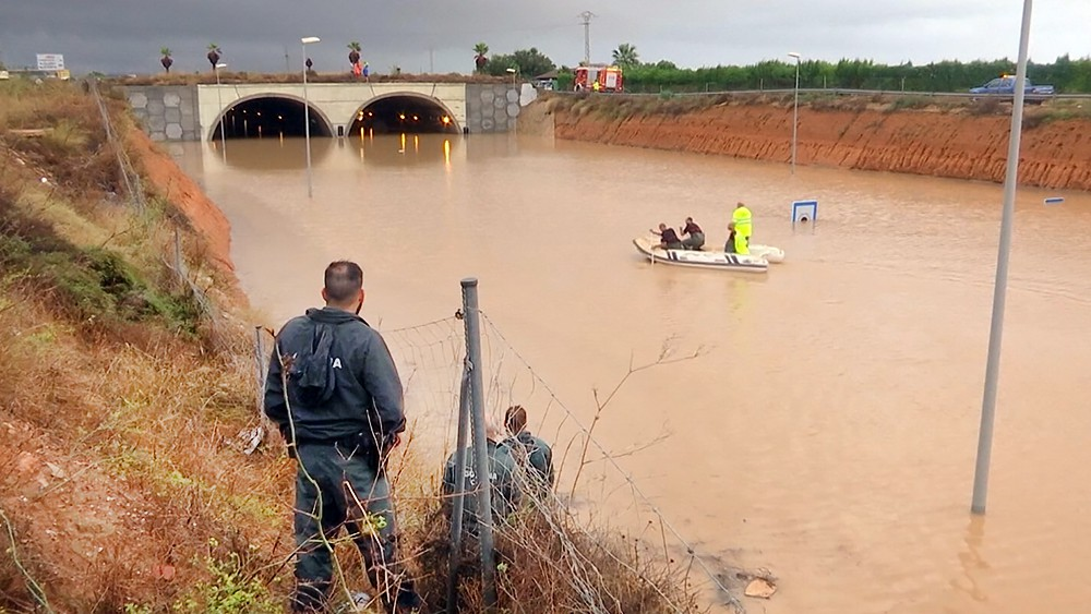 Последствия наводнения в Европе
