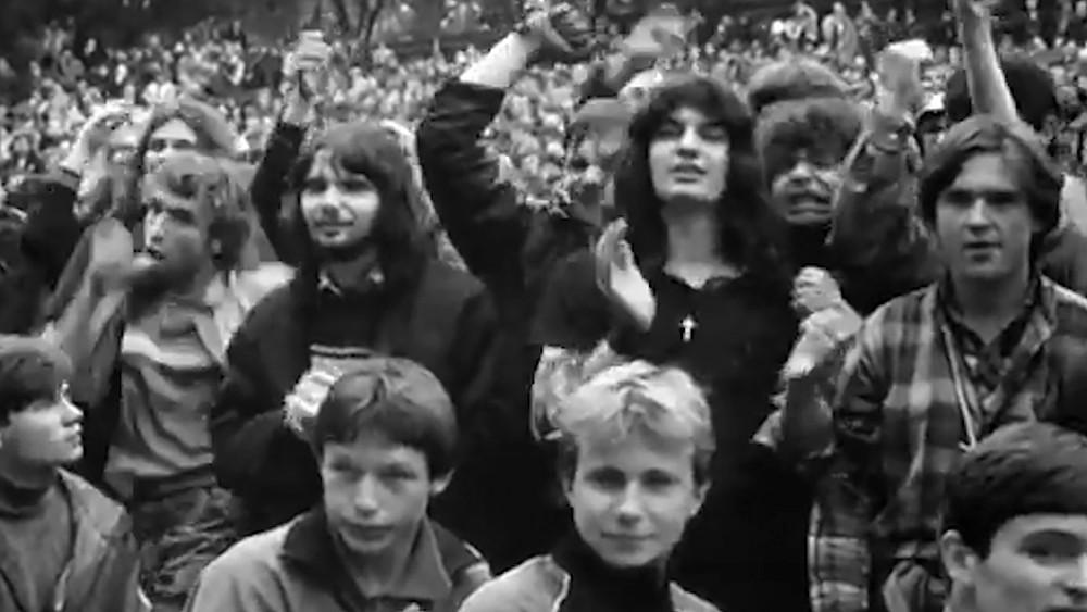 Зрители на рок-концерте