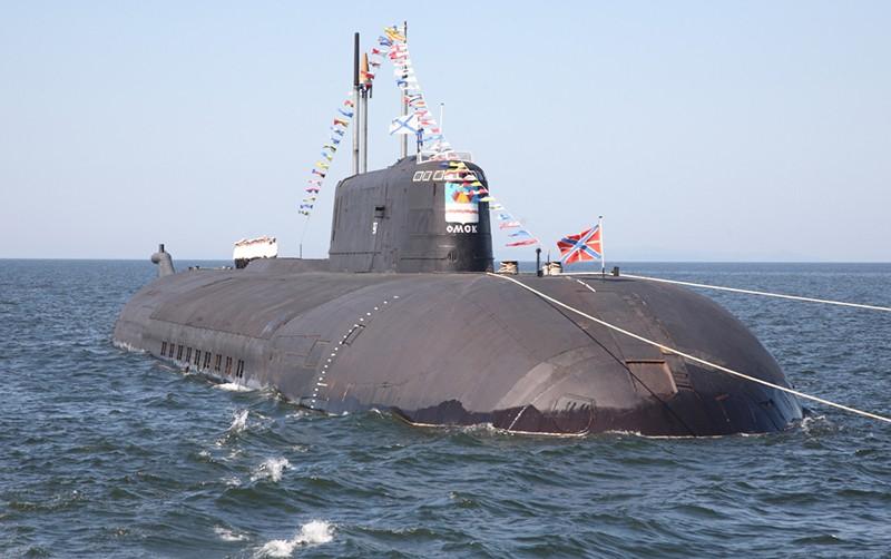 """Атомный подводный крейсер """"Омск"""""""
