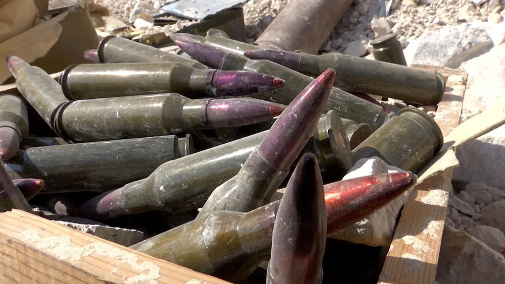 База боевиков с американским оружием в Сирии