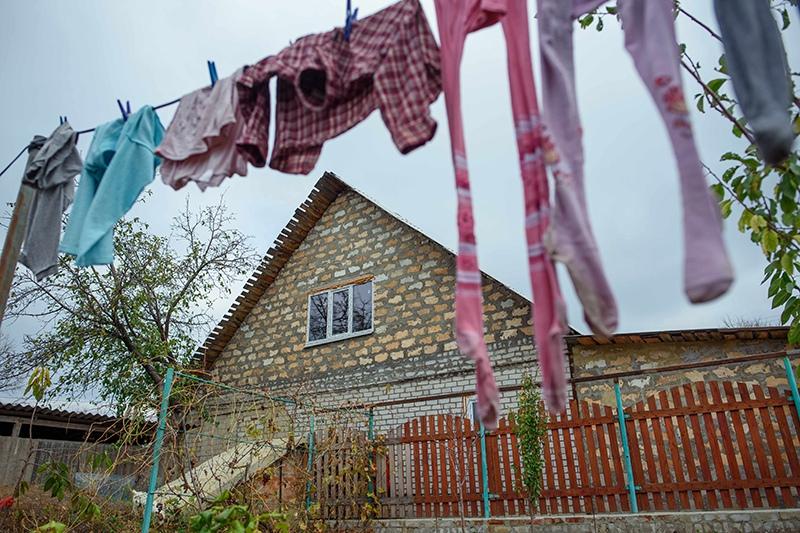 Украинская деревня