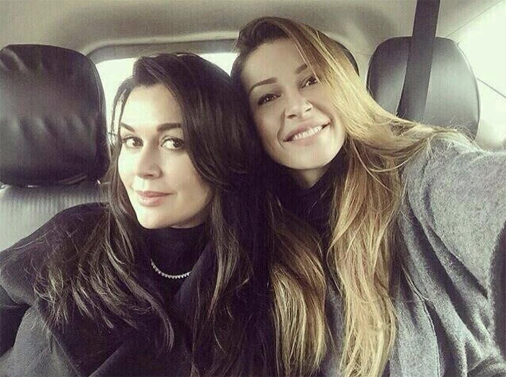 Анастасия Заворотнюк и ее дочь Анна