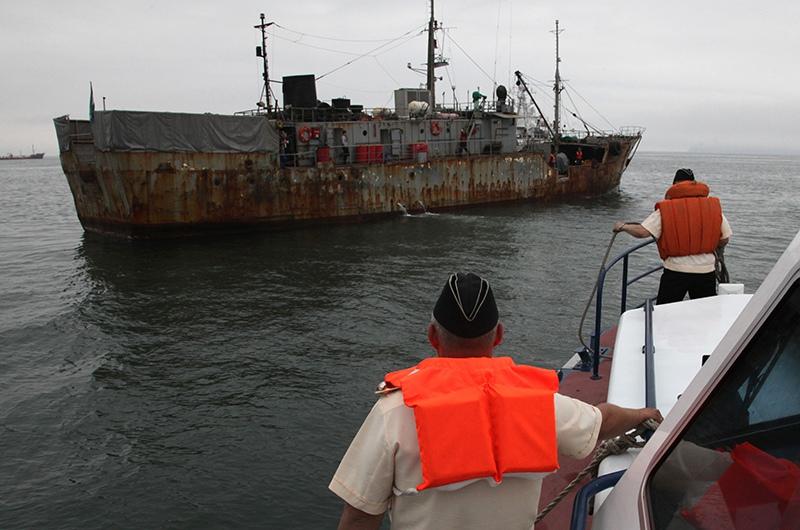 Задержание промысловой шхуны в Японском море