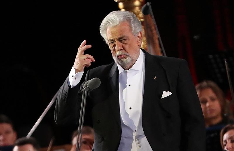 Испанский оперный певец (тенор) Пласидо Доминго