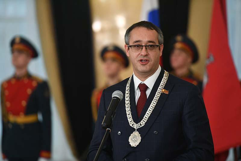 Председатель Московской городской думы Алексей Шапошников