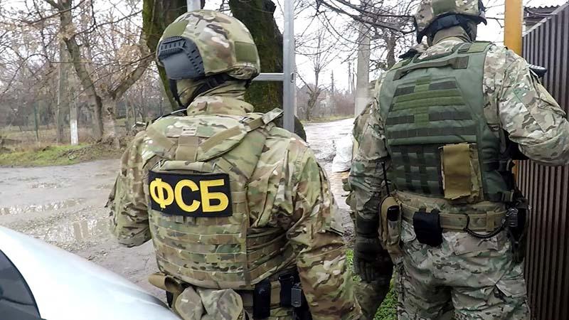 Сотрудники ФСБ России во время спецоперации