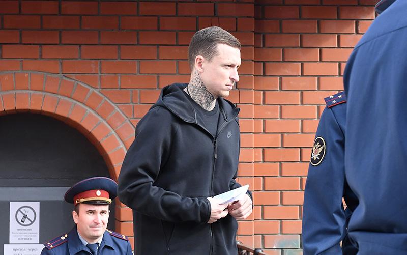 Футболист Павел Мамаев