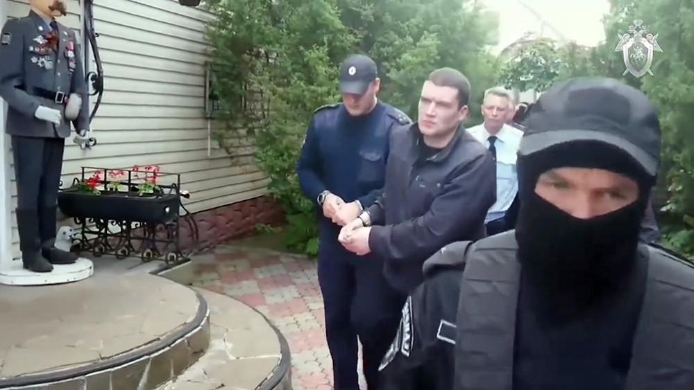 Следственные действия на месте убийства Михаила Круга
