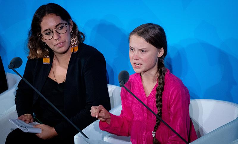 Активистка из Швеции Грета Тунберг