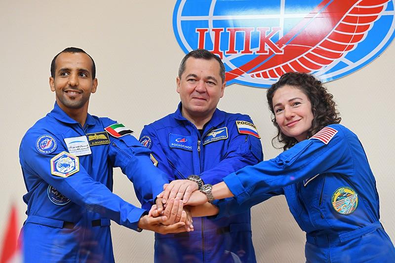 Состав основного экипажа МКС-61/62