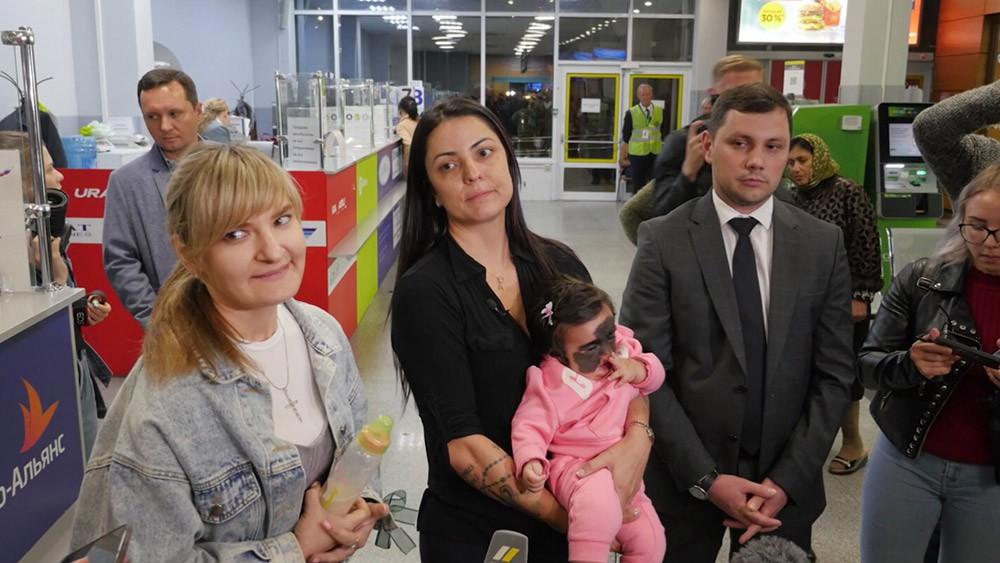 Девочка из США Луна Феннер прилетела на лечение в Краснодар