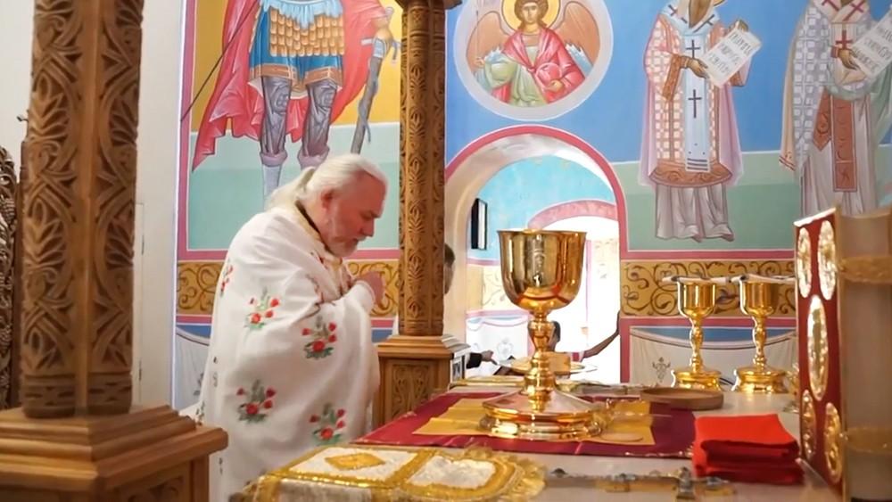 Настоятель Свято-Троицкой обители милосердия Николай Стремский
