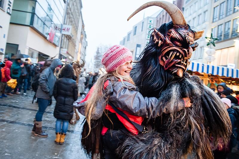 Мюнхенской рождественской ярмарке