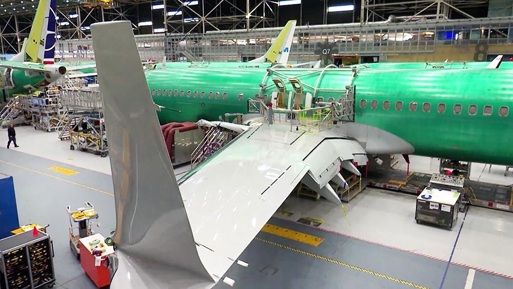 Авиационный завод Boeing