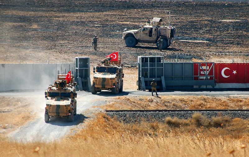 Военная техника Турции на территории Сирии