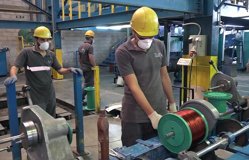 Завод по производству электрокабелей в Дамаске