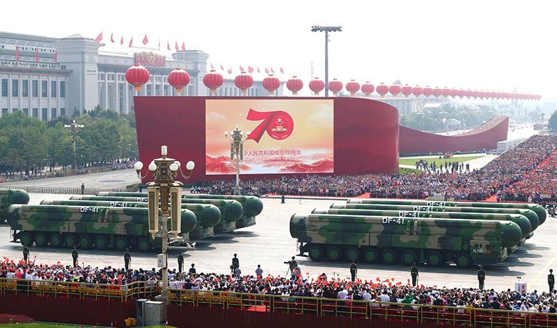 Парад на 70-летие образования республики КНР