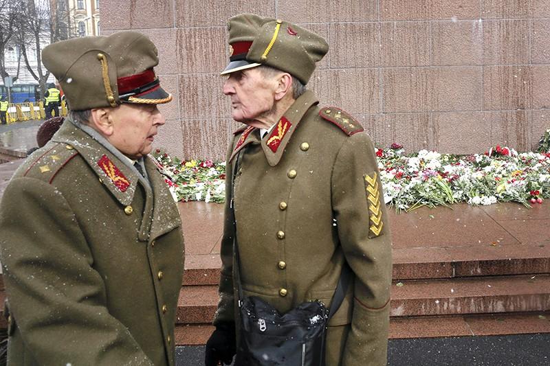 Ветераны Латвийского легиона СС