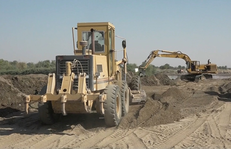 Строительство моста через Евфрат
