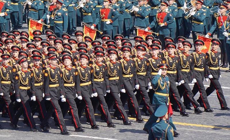 Кадеты суворовского военного училища