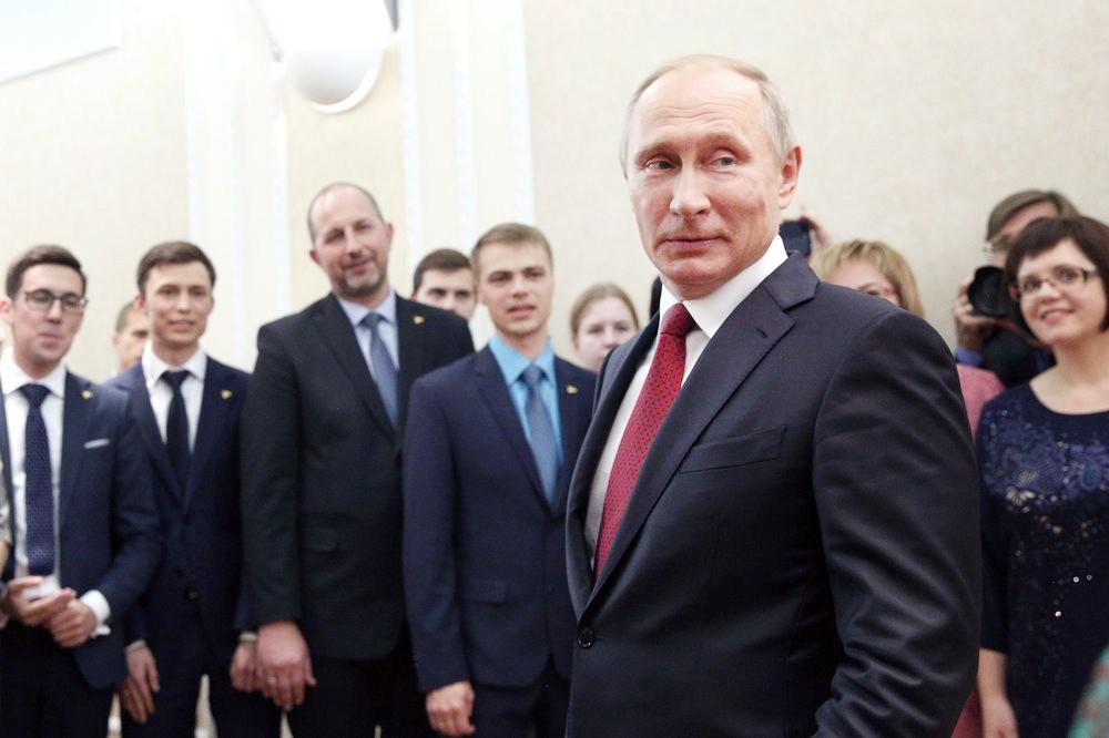 Владимир Путин и учителя