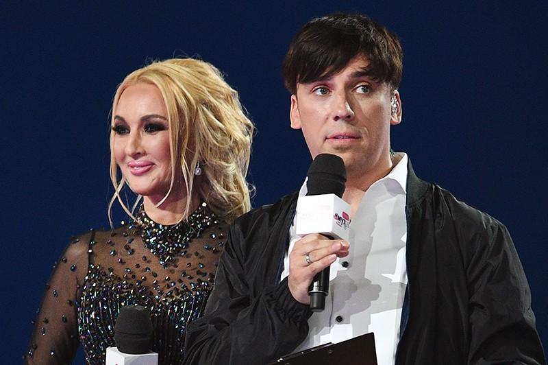 Лера Кудрявцева и Максим Галкин