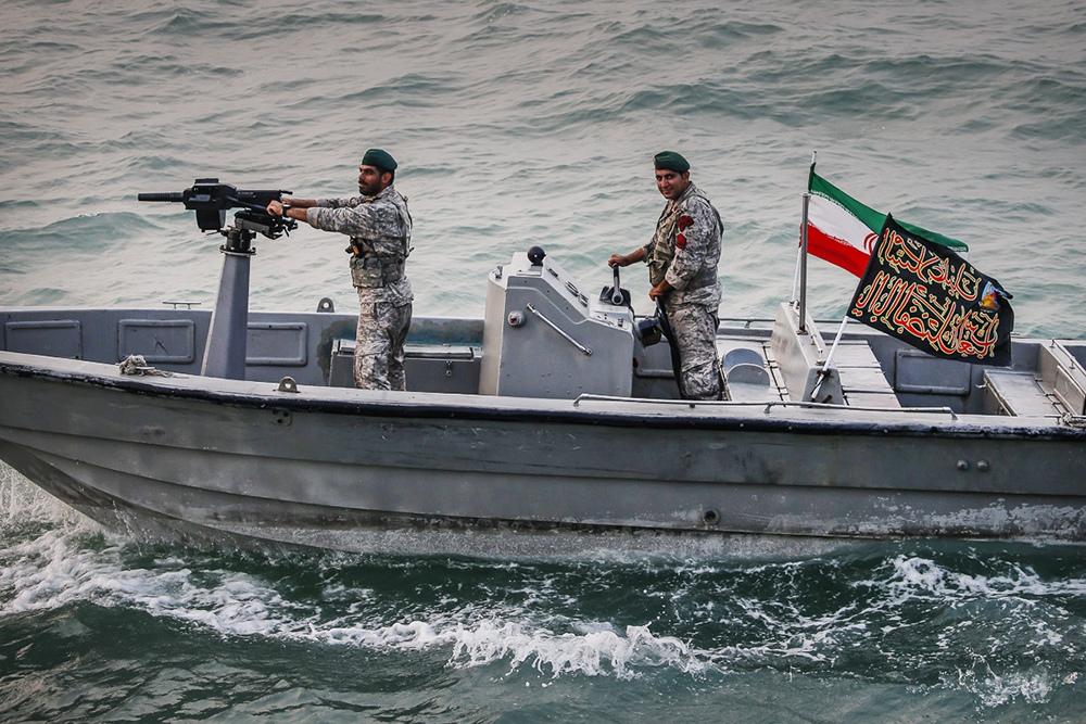 Катер ВМС Ирана