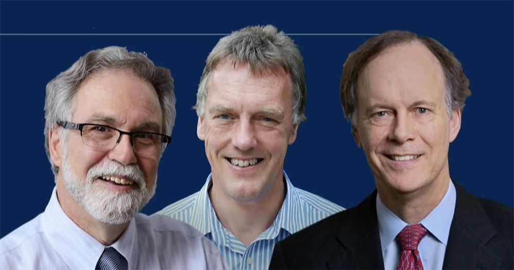 Грегг Семенса, Питер Ретклифф и Уильям Кейлин (слева направо)