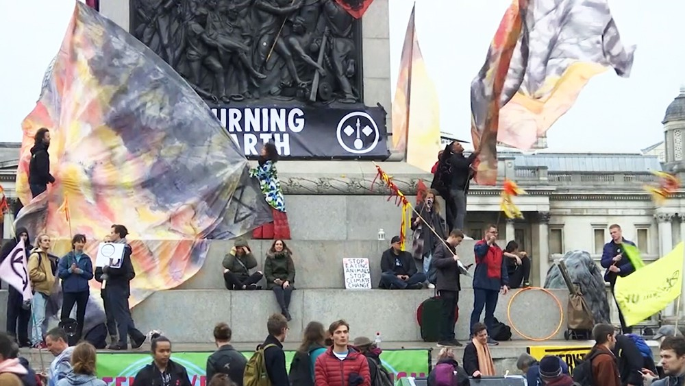 Митинг экоактивистов
