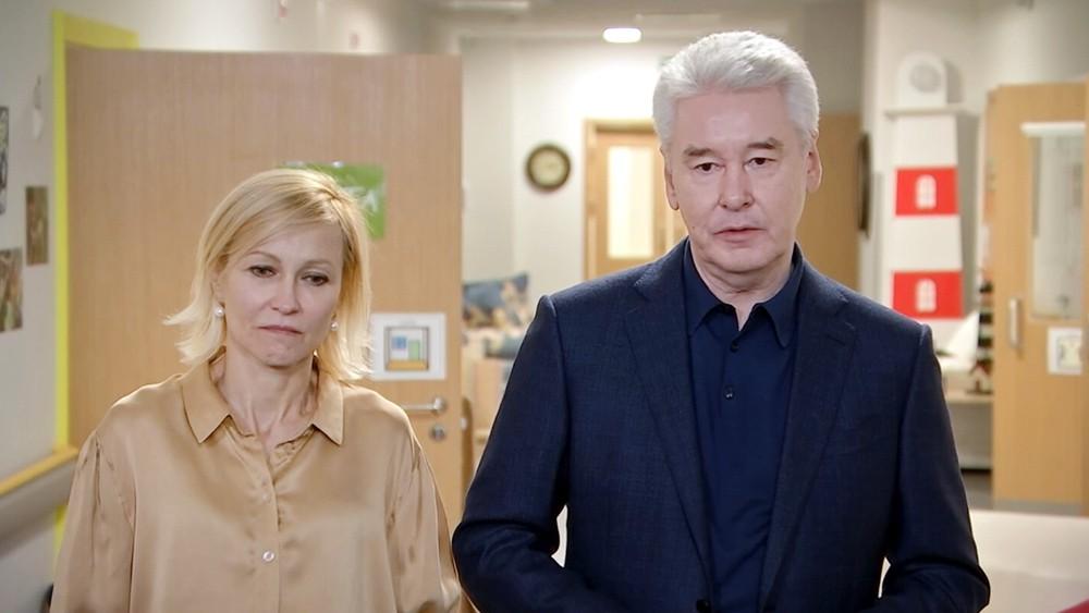 Сергей Собянин и Ингеборга Дапкунайте