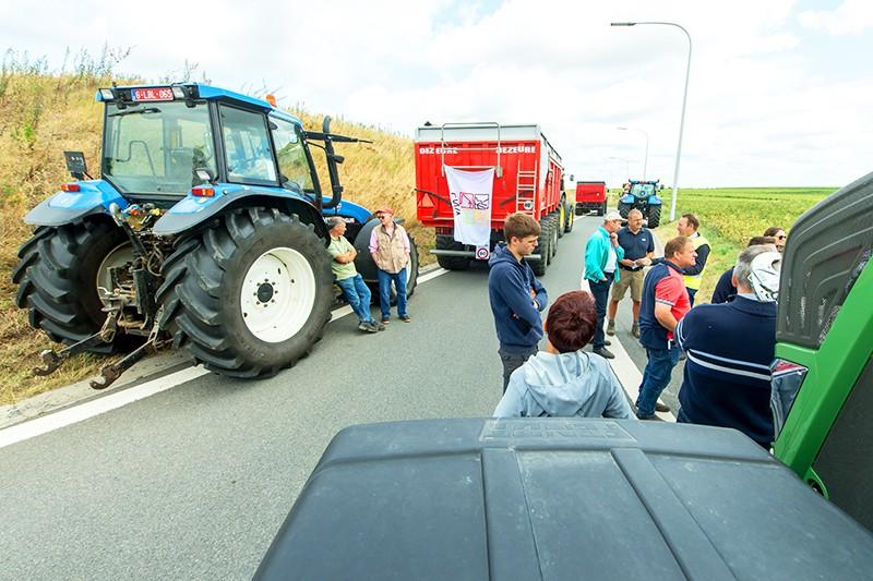 Протесты европейских фермеров