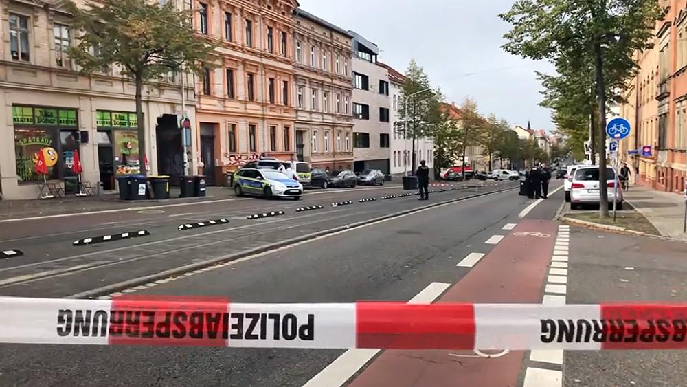 Последствия стрельбы в Германии