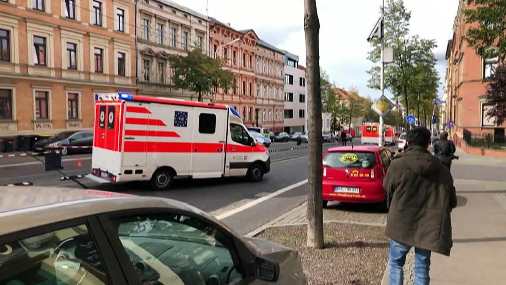 Скорая помощь Германии на месте происшествия