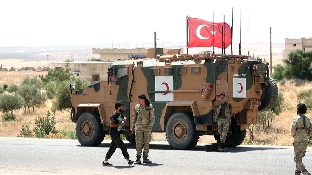 Военнослужащие армии Турции