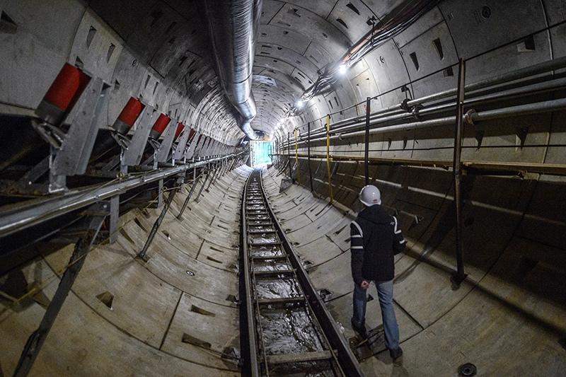 Строительство Большой кольцевой линии (БКЛ) метрополитена