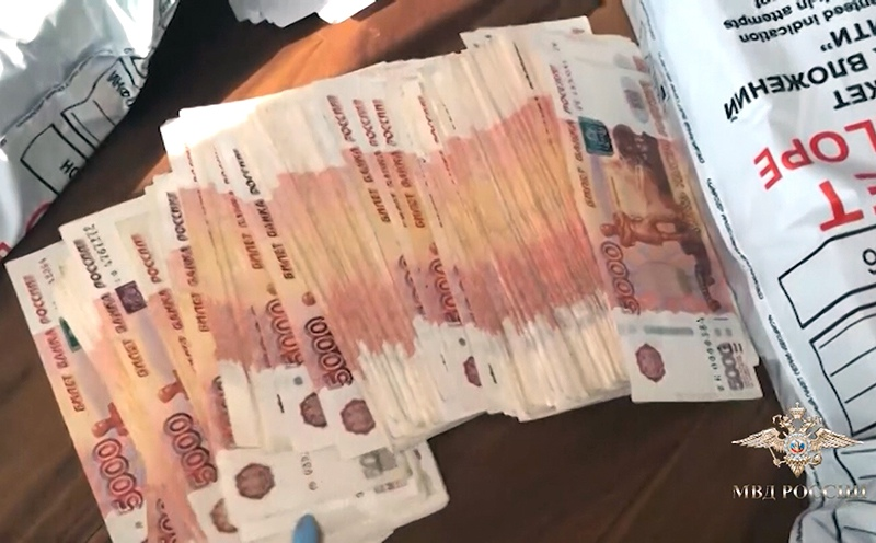 Обыск выводивших деньги за рубеж преступников