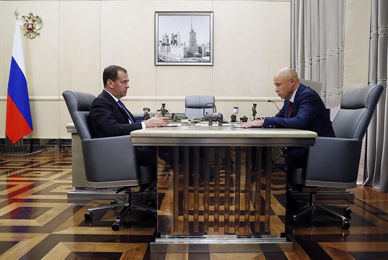 Дмитрий Медведев и Игорь Артамонов
