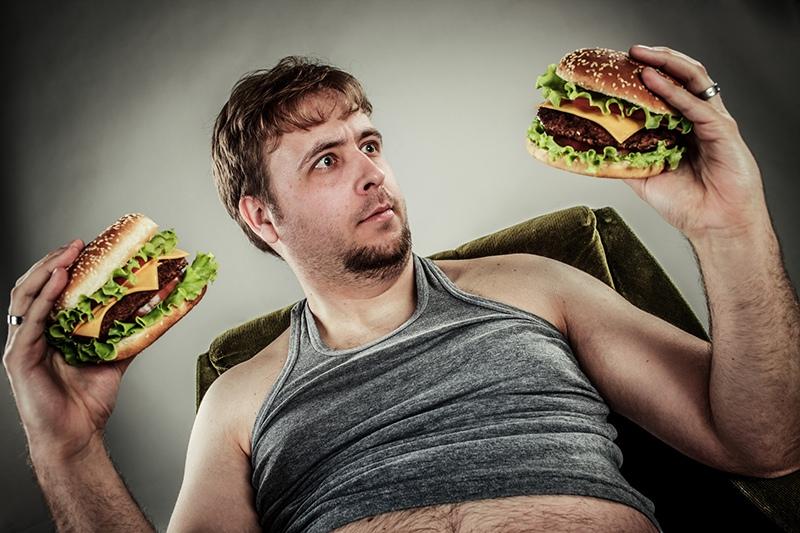 Толстый мужчина