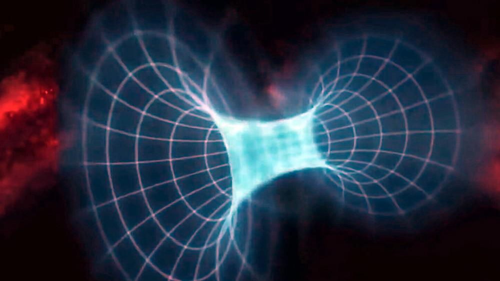 Модель космической кротовой норы
