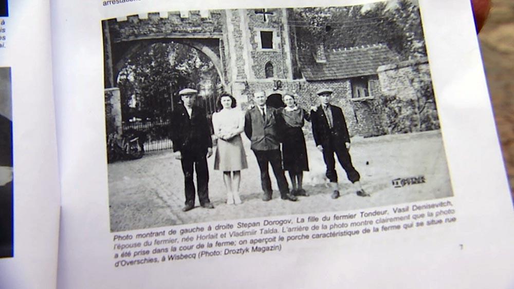 Члены Бельгийского подполья и советский воины-партизаны