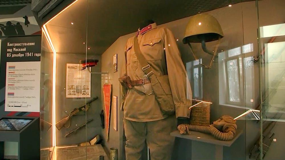Музей боевой славы в школе