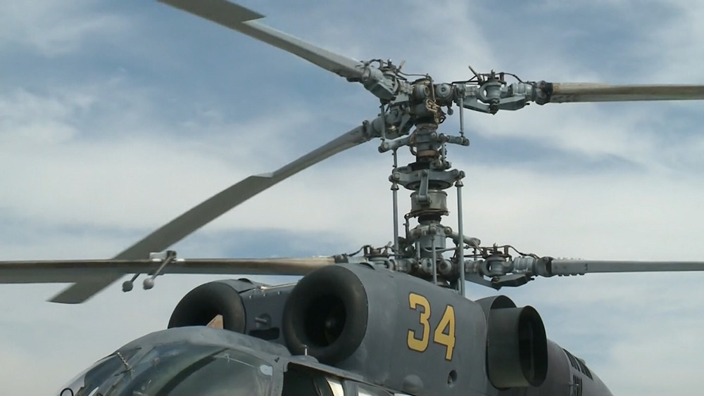 Вертолёт Ми-34