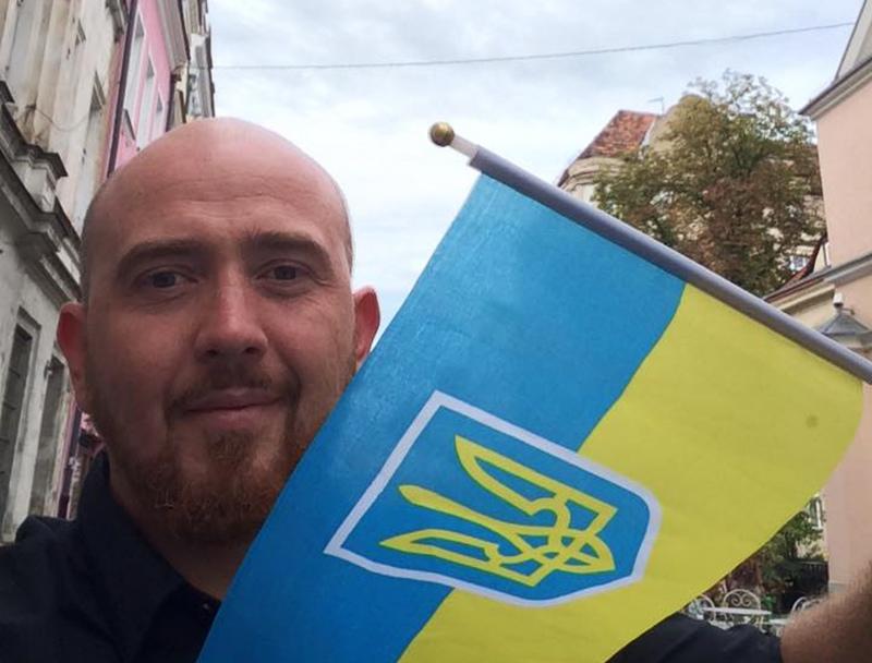 Украинский актер Юрий Марк
