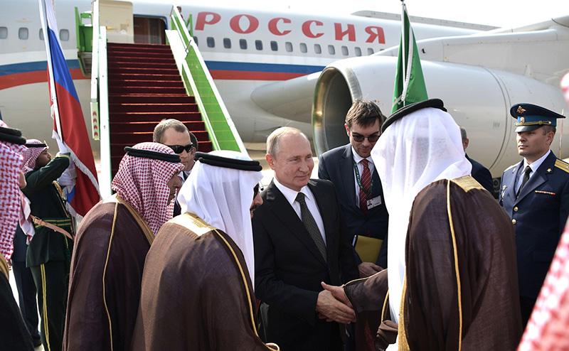 Государственный визит Владимира Путина в Саудовскую Аравию