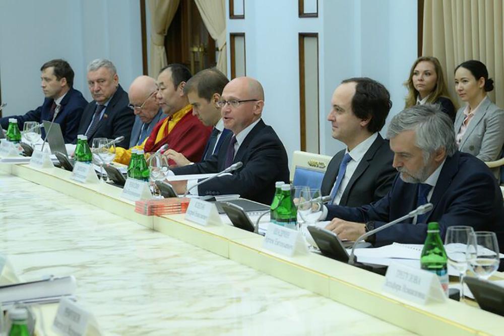 Заседание Координационного комитета по проведению конкурсов на предоставление грантов