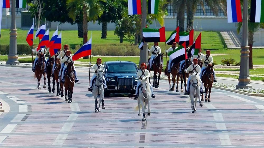 Государственный визит Владимира Путина в ОАЭ