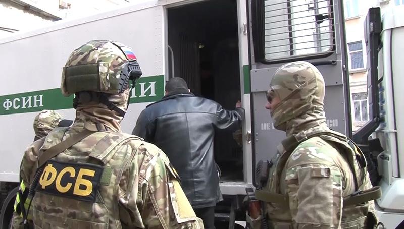 Сотрудники ФСБ