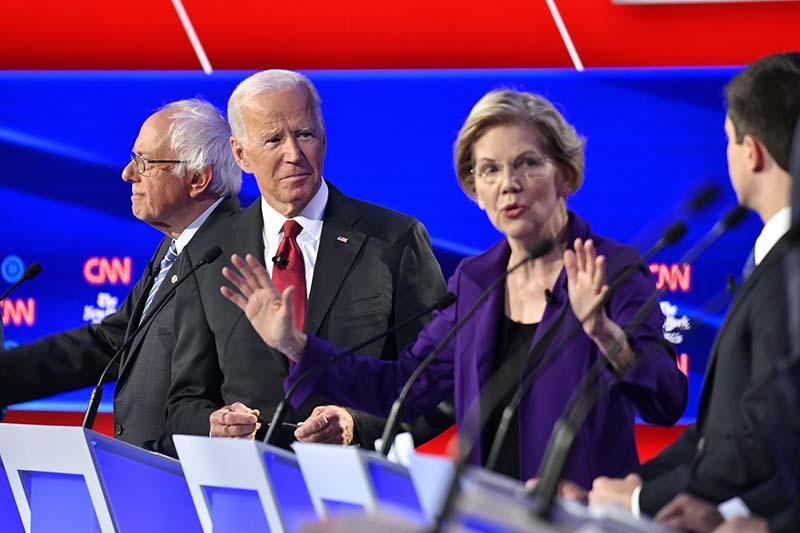 Дебаты демократов в США